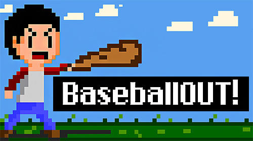 Baseball out! poster