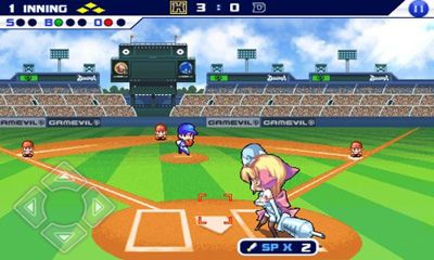Screenshots von Baseball Superstars 2012 für Android-Tablet, Smartphone.
