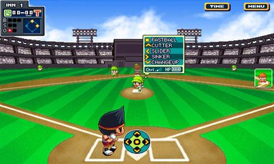 Геймплей Baseball Superstars 2012 для Android телефону.