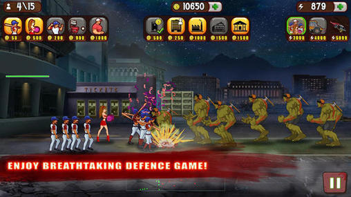 Kostenloses Android-Game Baseball vs Zombies. Vollversion der Android-apk-App Hirschjäger: Die Baseball vs zombies für Tablets und Telefone.