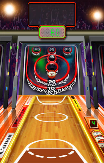 Basket bowl. Skee basket ball pro screenshot 2