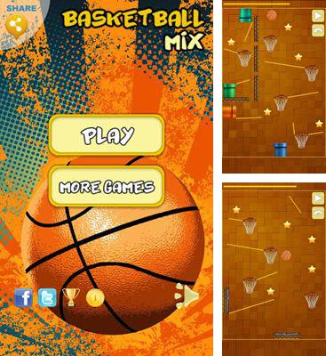 In addition to the game Flying Pigs for Android phones and tablets, you can also download Basketball Mix for free.