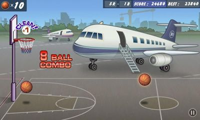 Screenshots do Basketball Shoot - Perigoso para tablet e celular Android.
