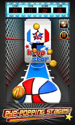 Screenshots von Basketball Shootout für Android-Tablet, Smartphone.