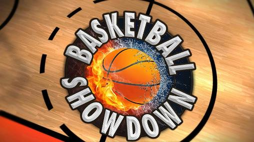 Basketball showdown poster