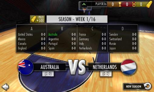 Basketball showdown 2015 screenshot 2