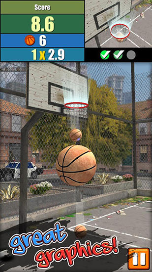 Basketball tournament screenshot 1