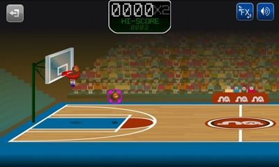 Screenshots von Basketmania für Android-Tablet, Smartphone.