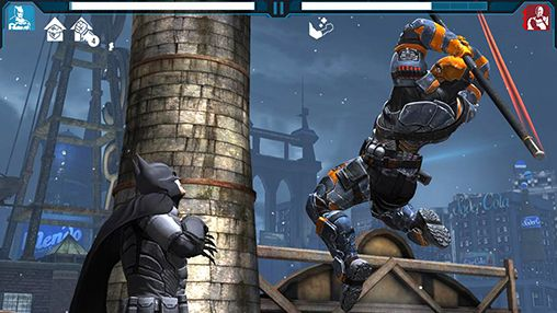 Screenshots von Batman: Arkham origins für Android-Tablet, Smartphone.