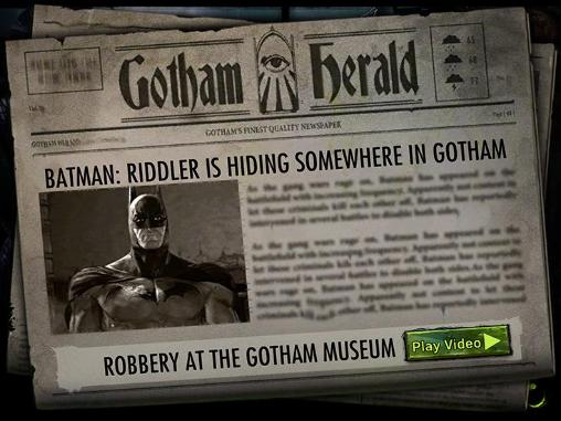 Screenshots von Batman: Arkham underworld für Android-Tablet, Smartphone.