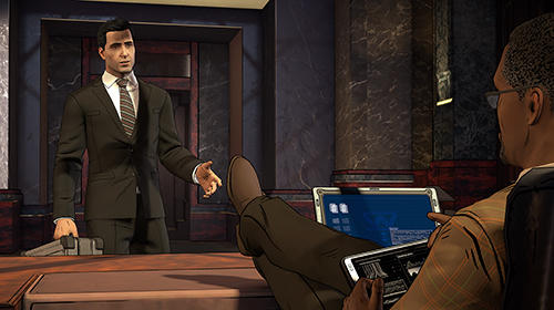 Batman: The enemy within screenshot 1