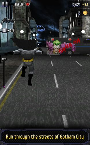Kostenloses Android-Game Batman & the Flash: Heldenlauf. Vollversion der Android-apk-App Hirschjäger: Die Batman & the Flash: Hero run für Tablets und Telefone.