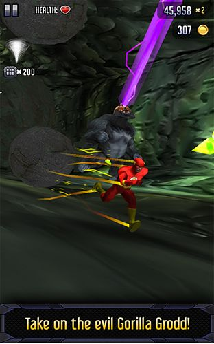 Screenshots von Batman & the Flash: Hero run für Android-Tablet, Smartphone.