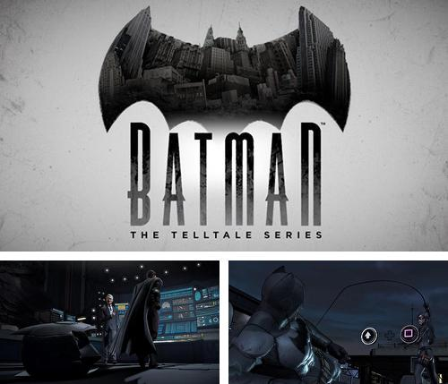 Alem do jogo As Aventuras de Tintin para telefones e tablets Android, voce tambem pode baixar Batman - Séries The Telltale, Batman - The Telltale Series gratuitamente.