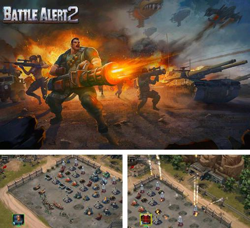 In addition to the game Red warfare: Let's fire! for Android phones and tablets, you can also download Battle alert 2: 3D edition for free.