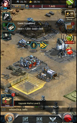 Screenshots von Battle alert 3 für Android-Tablet, Smartphone.