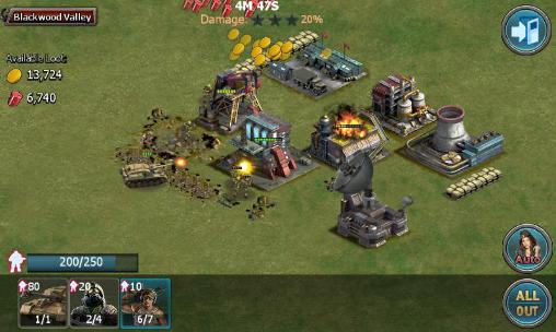 Battle alert: War of tanks screenshot 2