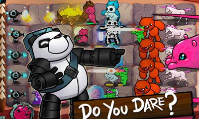 Screenshots of the Battle Bears Fortress for Android tablet, phone.