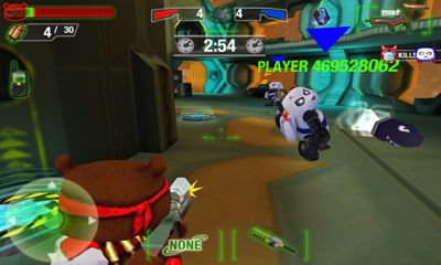 Screenshots do Battle Bears Royale - Perigoso para tablet e celular Android.