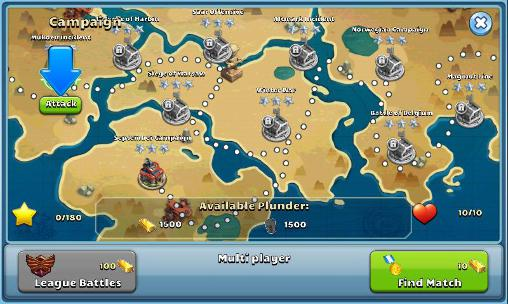 Screenshots von Battle glory 2 für Android-Tablet, Smartphone.