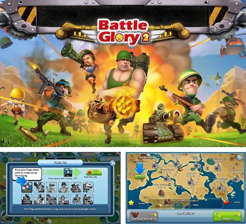 In addition to the game Army of heroes for Android phones and tablets, you can also download Battle glory 2 for free.