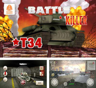 In addition to the game Gta Tank VS New York for Android phones and tablets, you can also download Battle Killer T34 3D for free.