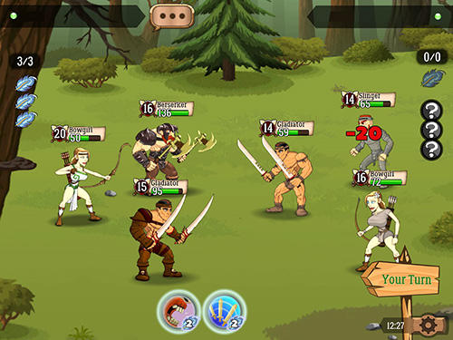 Battle lands: The clash of epic heroes screenshot 3