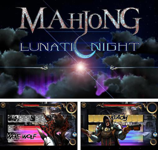 Battle mahjong of lunatic night