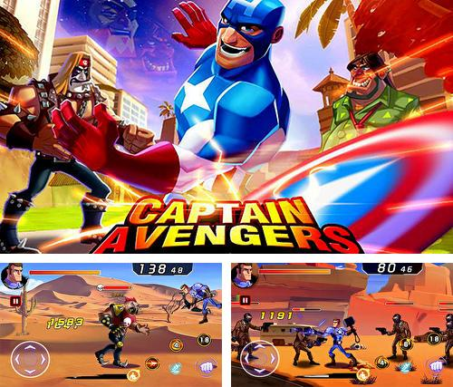 Battle of superheroes: Captain avengers