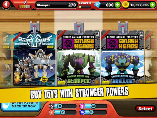 Jogue Battle of toys para Android. Jogo Battle of toys para download gratuito.