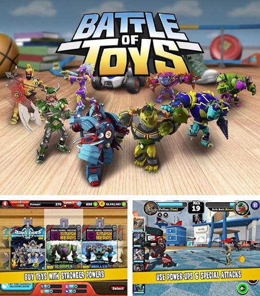 In addition to the game Steel: Street fighter club for Android phones and tablets, you can also download Battle of toys for free.