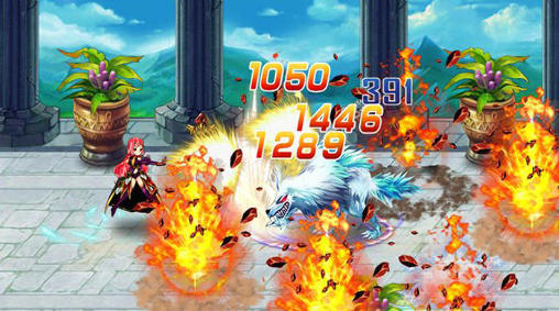Screenshots of the Battle of warriors: Dragon knight for Android tablet, phone.