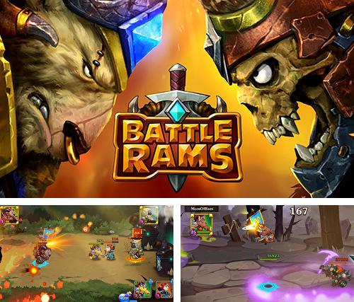 Battle rams: Clash of castles. Action RPG moba