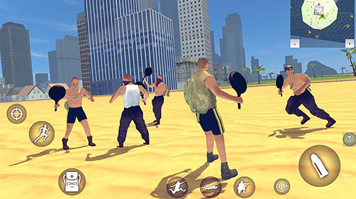 Screenshots von Battle royale simulator PvE für Android-Tablet, Smartphone.