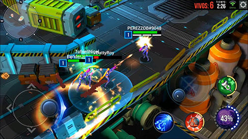 Screenshots von Battle royale: Ultimate show für Android-Tablet, Smartphone.