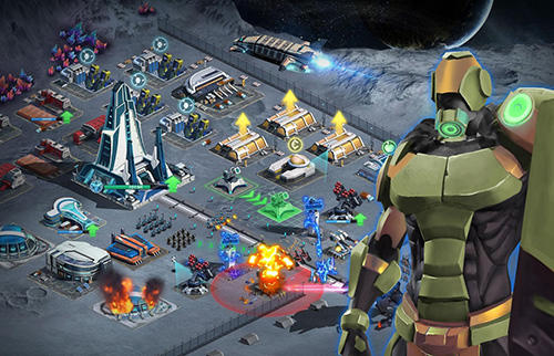 Screenshots do Battle space: Strategic war - Perigoso para tablet e celular Android.