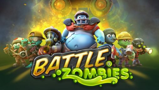 Battle zombies poster