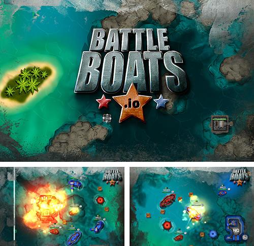 In addition to the game Godzill.io for Android phones and tablets, you can also download Battleboats.io for free.