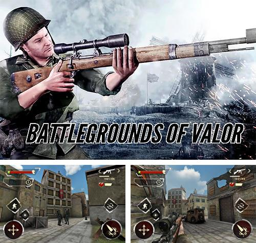 In addition to the game NY punch boxing champion: Real pound boxer 2018 for Android phones and tablets, you can also download Battlegrounds of valor: WW2 arena survival for free.