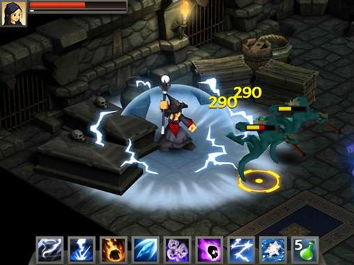 Screenshots von Battleheart: Legacy für Android-Tablet, Smartphone.