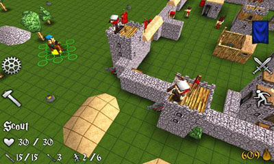 Screenshots von Battles and castles für Android-Tablet, Smartphone.