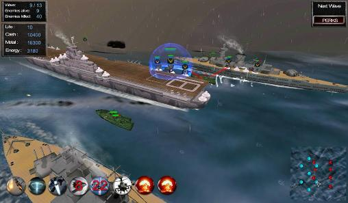 Screenshots von Battleship: Line of battle 4 für Android-Tablet, Smartphone.