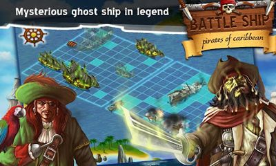 Screenshots von BattleShip. Pirates of Caribbean für Android-Tablet, Smartphone.