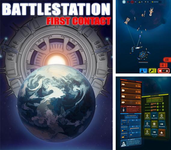 In addition to the game Starship Battles for Android phones and tablets, you can also download Battlestation: First contact for free.
