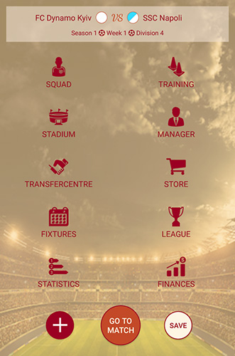 Capturas de pantalla de Be the manager 2018: Football strategy para tabletas y teléfonos Android.