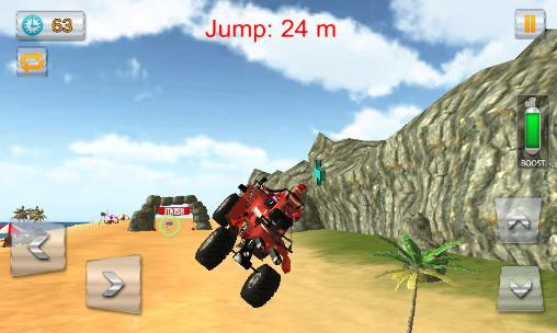 Beach bike stunts 2016 скриншот 2