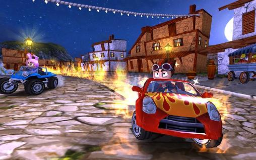 Screenshots von Beach buggy racing für Android-Tablet, Smartphone.
