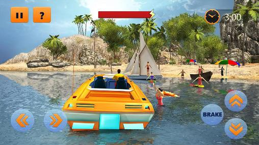 Beach lifeguard rescue duty screenshot 1