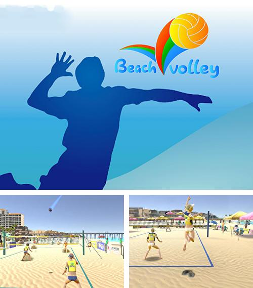 In addition to the game Volleyball: Extreme edition for Android phones and tablets, you can also download Beach volleyball 2016 for free.