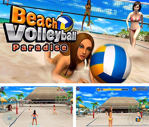 Beach volleyball paradise